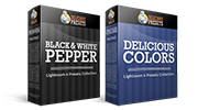 Delicious Colors + B&W Pepper - Lightroom 4 & Lightroom 5 Presets Bundle