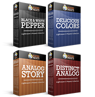 Analog Story + Distinct Analog + Delicious Colors + B&W Pepper - Lightroom 4 & Lightroom 5 Presets Bundle from Delicious Presets