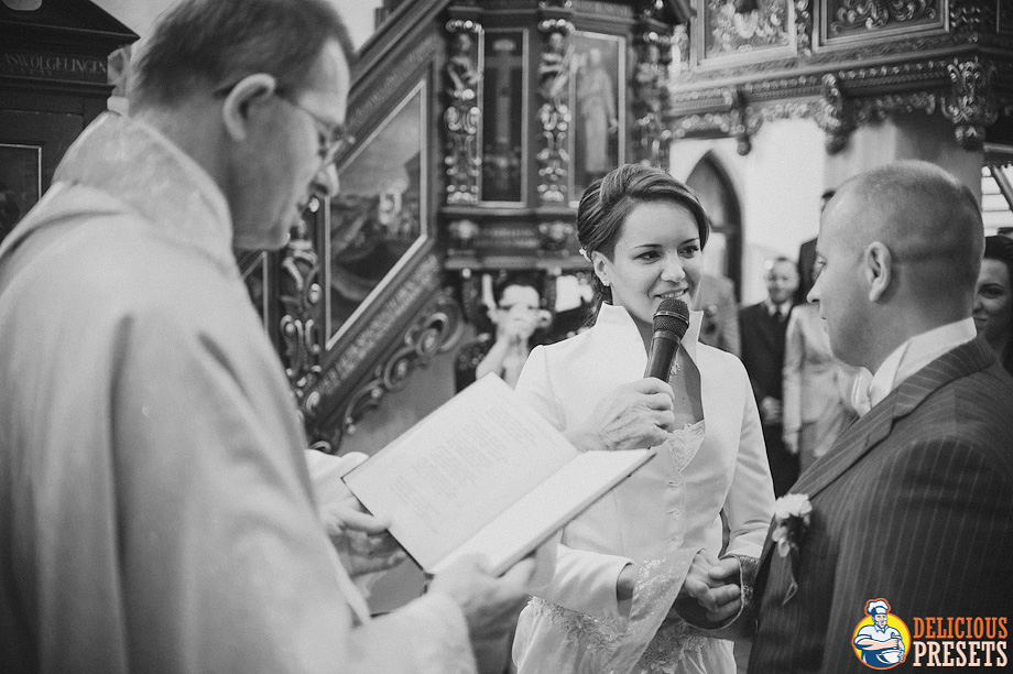 Wedding Photography Lightroom B&W Presets