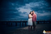 Strobist Engagement Shoot with Blue Vintage Lightroom 4 Preset