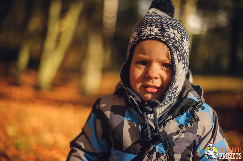 Autumn Colors Children Portrait Photography Lightroom 4 Presets