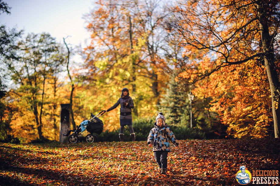 Lightroom 4 Presets for family autumn photography