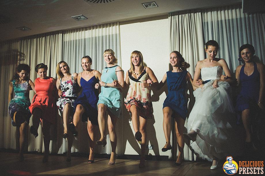 Lightroom Presets for Wedding Reception