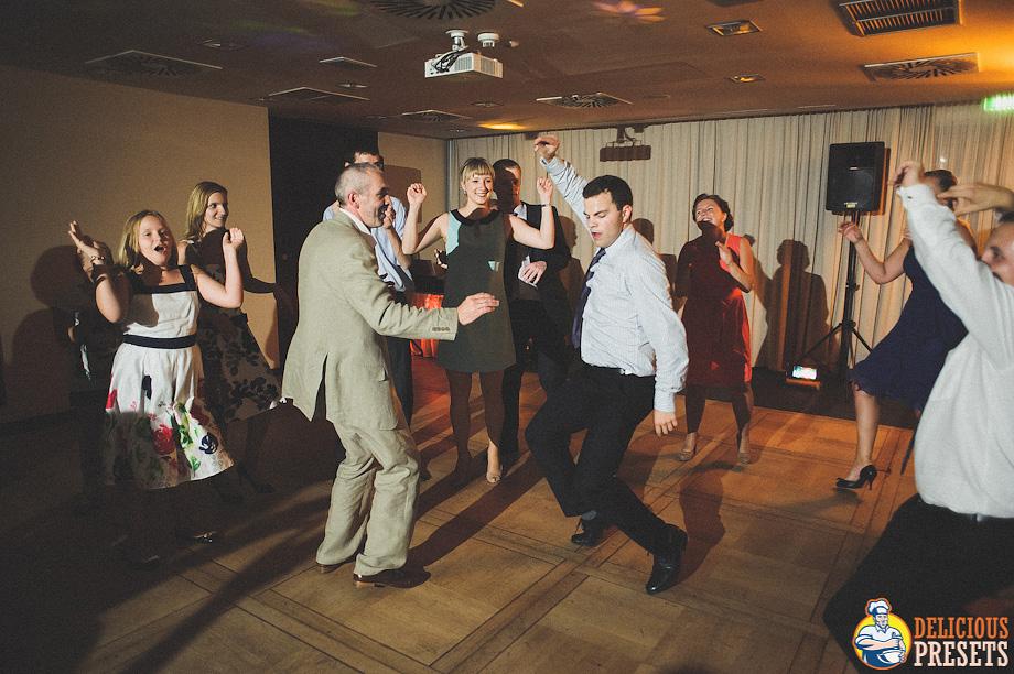 Vintage Lightroom Preset for Wedding Reception Dances