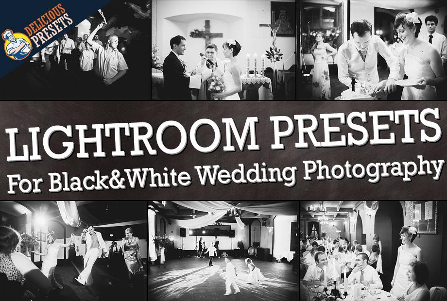 Black&White Lightroom Presets for Wedding Photography