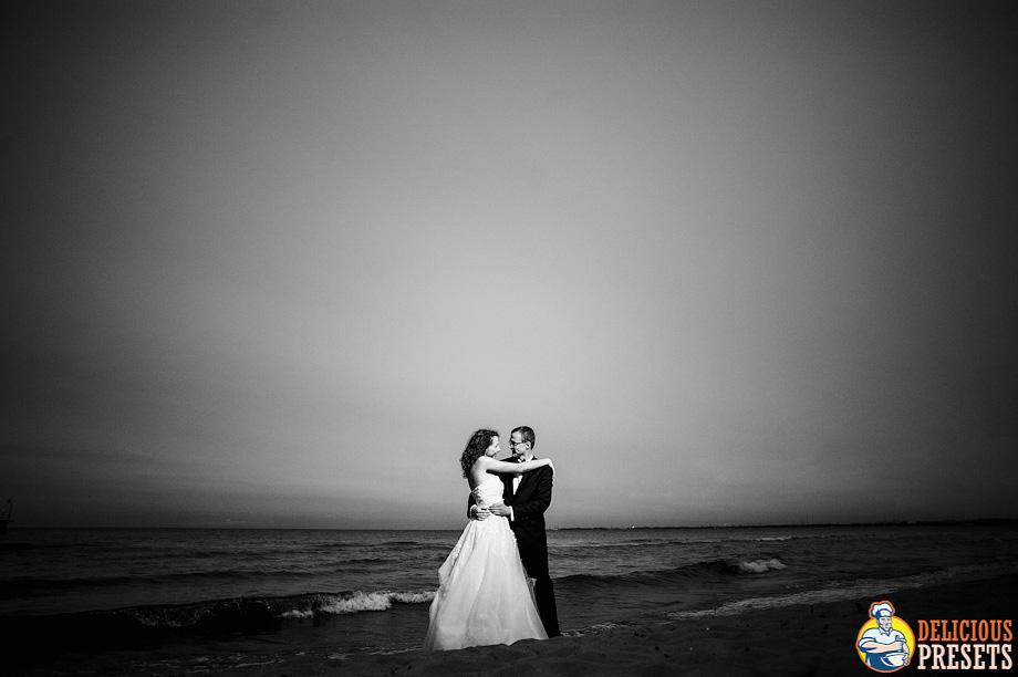 JPEG Lightroom Presets for Black&White Wedding Photography