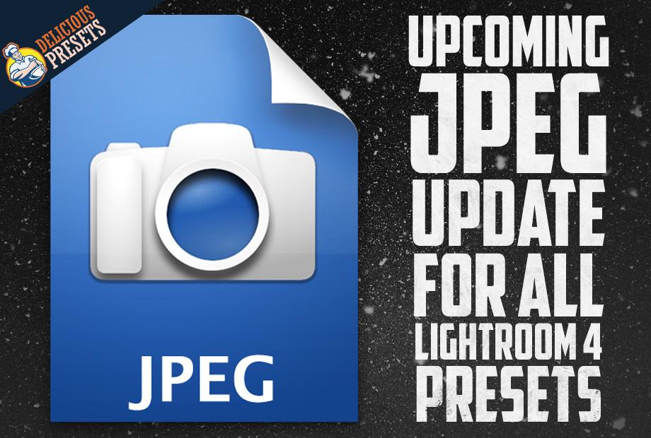 Lightroom JPEG Presets
