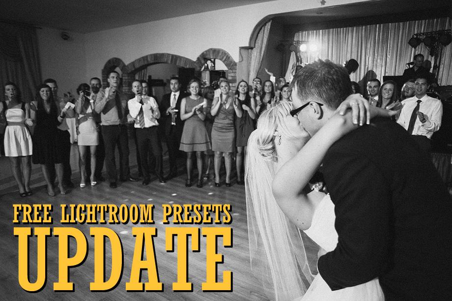 Free Lightroom Presets Update