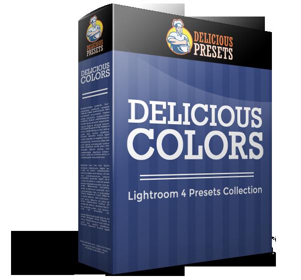 Presety do Lightroom 4/5 - Delicious Colors od Delicious Presets