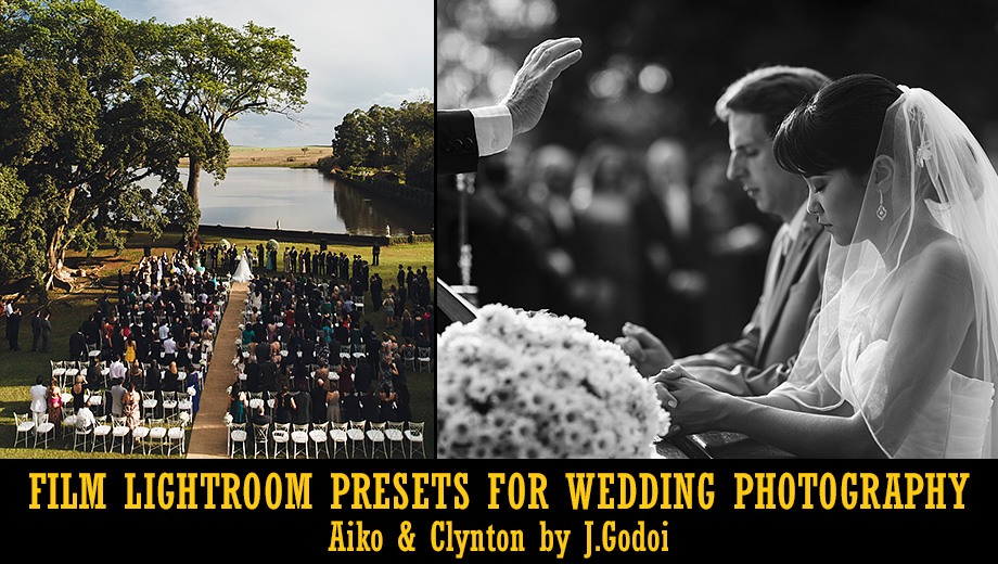 Film Lightroom Presets for Wedding Photography