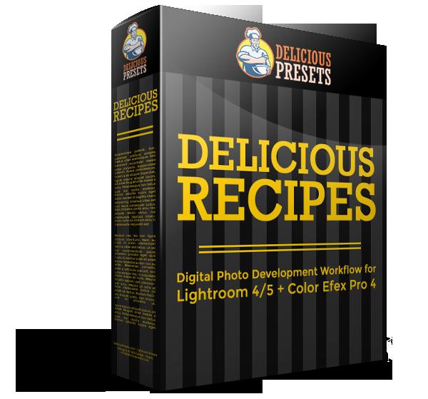 Szybki workflow dla Lightrooma 4/5 i Color Efex Pro 4 - Delicious Recipes - fotografia ślubna