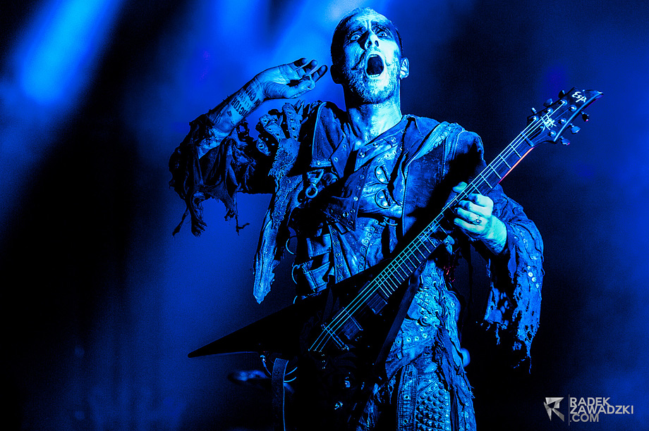 Radek Zawadzki - Concert Photography Interview - Behemoth Concert Photos