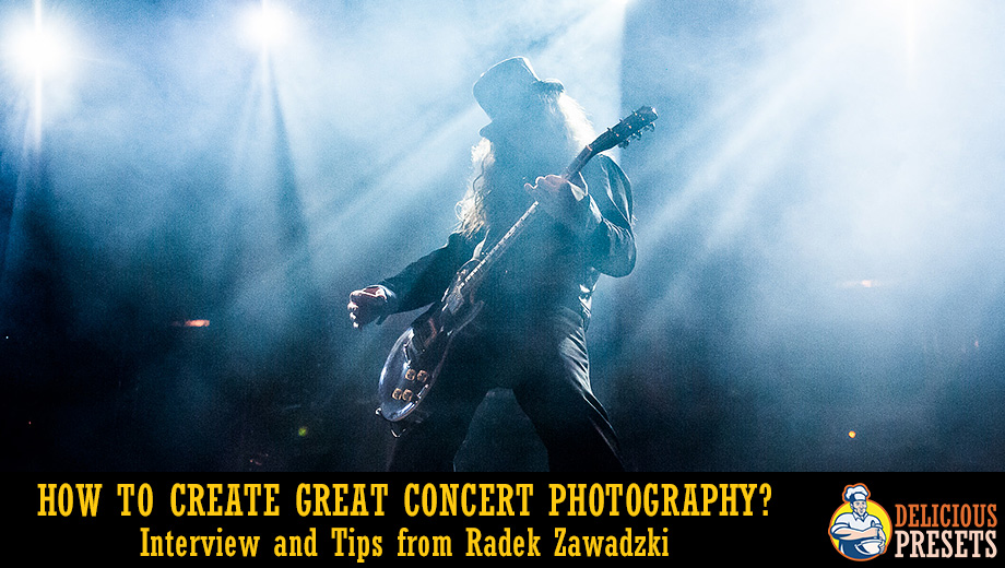 How To Create Great Concert Photography? Interview and Tips