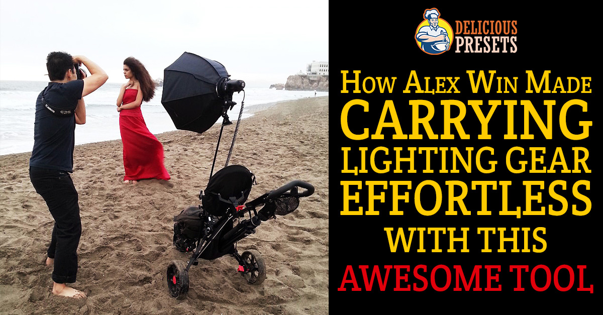Carrying Lighting Gear Strobist Tool - Golf Cart DIY