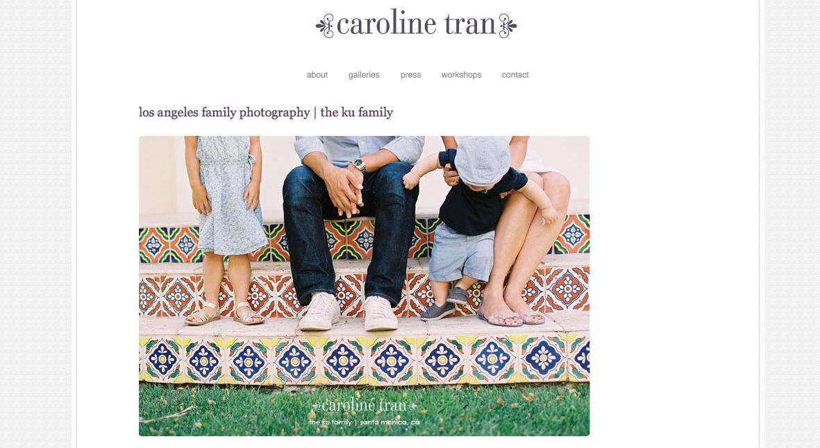 Caroline Tran photography