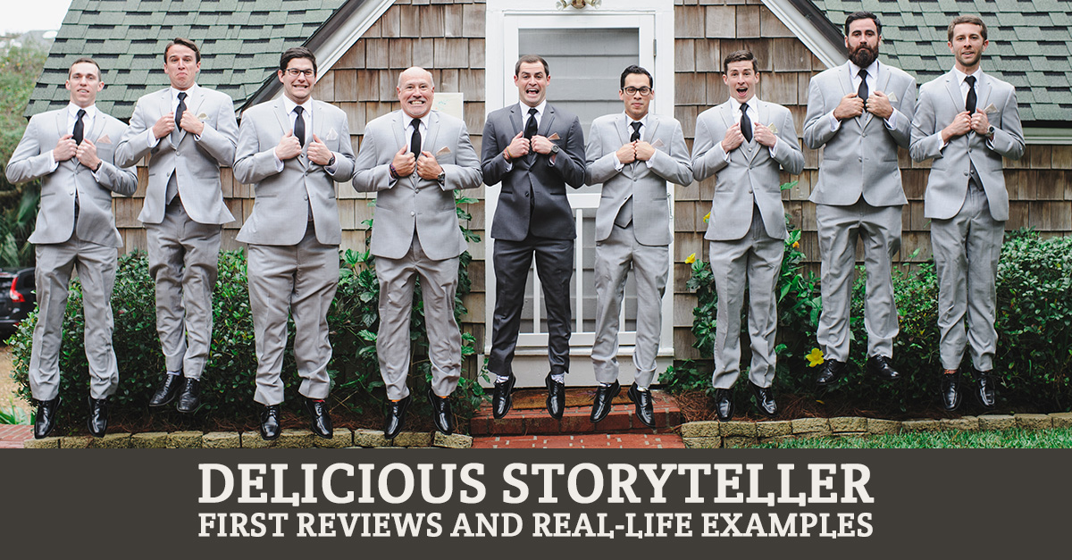 Delicious Storyteller - review and photos