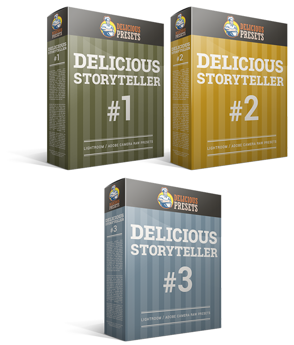 Delicious Storyteller Presets for Lightroom + Camera Raw